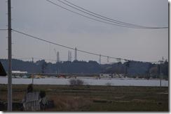 福島第一原発の煙突