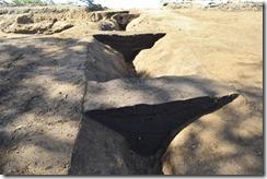 溝状遺構(SD01)土層堆積状況